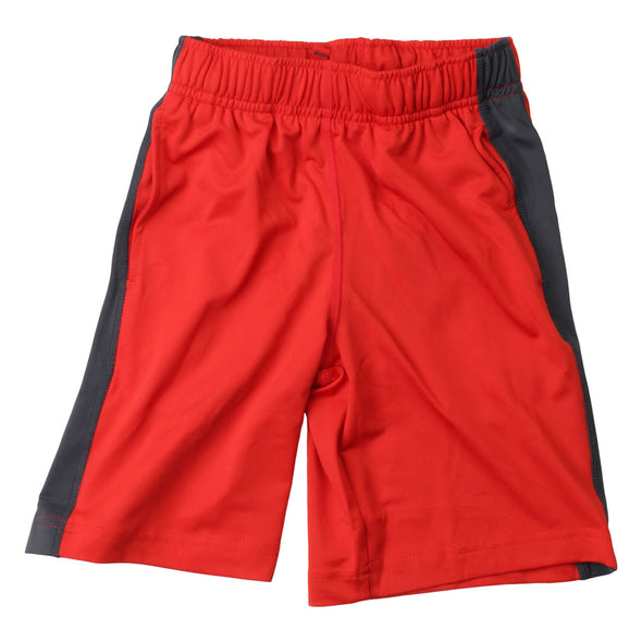 Wes & Willy Boy's Performance Short--Red