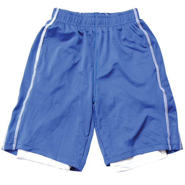 Wes & Willy Boy's Lined Performance Short--Blue Moon