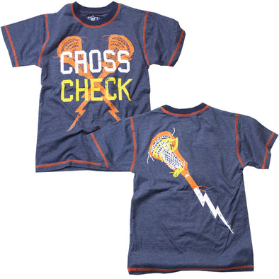 Wes & Willy Cross Check LaCross Tee
