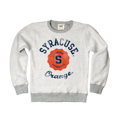 Wes & Willy Syracuse Orange Rev. Fleece Crew