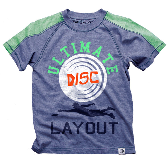 Wes & Willy Boy's Ultimate Disc Tee