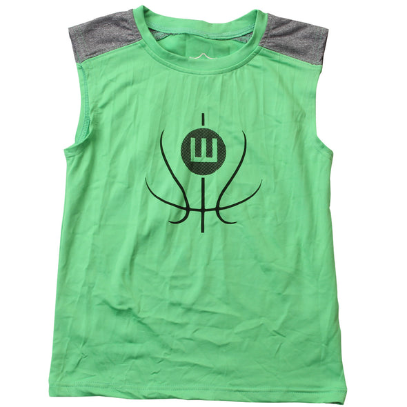 Wes & Willy Boy's Basketball Sleeveless Tee