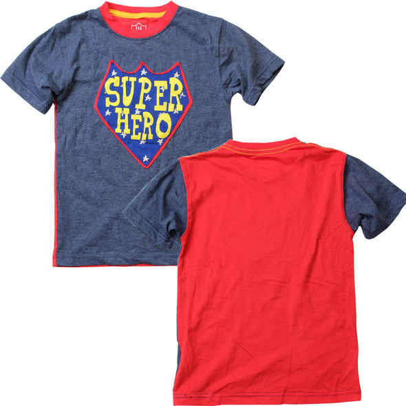 Wes & Willy Boy's Super Hero Tee