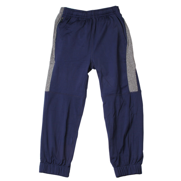Wes & Willy Boy's Midnight Striped Performance Jogger