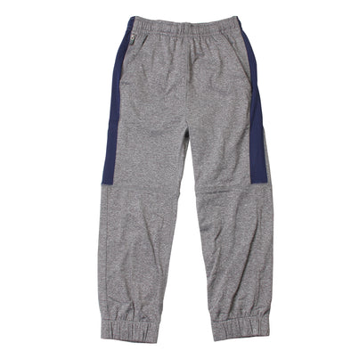 Wes & Willy Boy's Metal Striped Performance Jogger