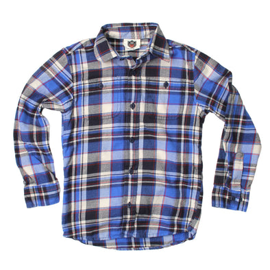 Wes & Willy Blue Moon Plaid Shirt