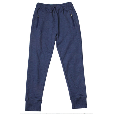 Wes & Willy Boy's Zip Pocket Fleece Jogger Pant