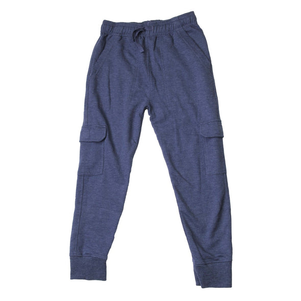 Wes & Willy Boy's Midnight Cargo Fleece Jogger Pant