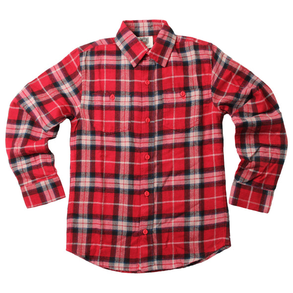 Wes & Willy Boy's Flannel Shirt
