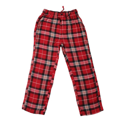 Wes & Willy Boy's Plaid Pant-Cherry