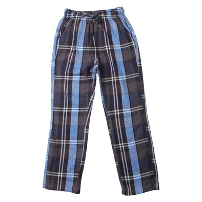 Wes & Willy Boy's Plaid Pant-Midnight