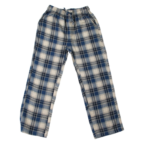 Wes & Willy Boy's Plaid Pant-Royal