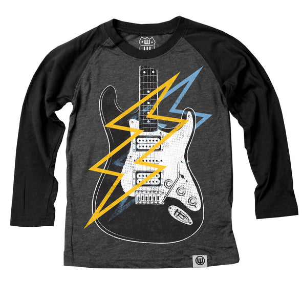 Wes & Willy Boy's Electric Guitar Raglan
