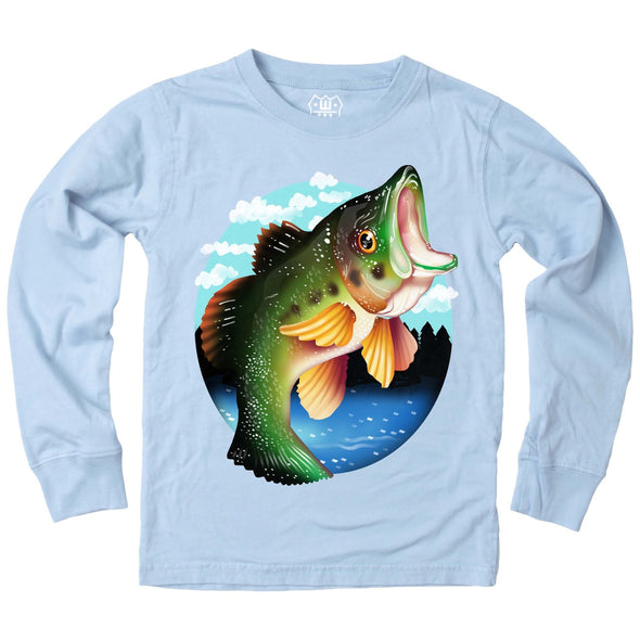 Wes & Willy Boy's Largemouth Bass Tee