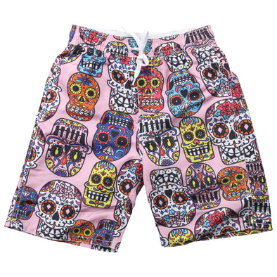 Wes & Willy Boy's Sugar Skull Trunks
