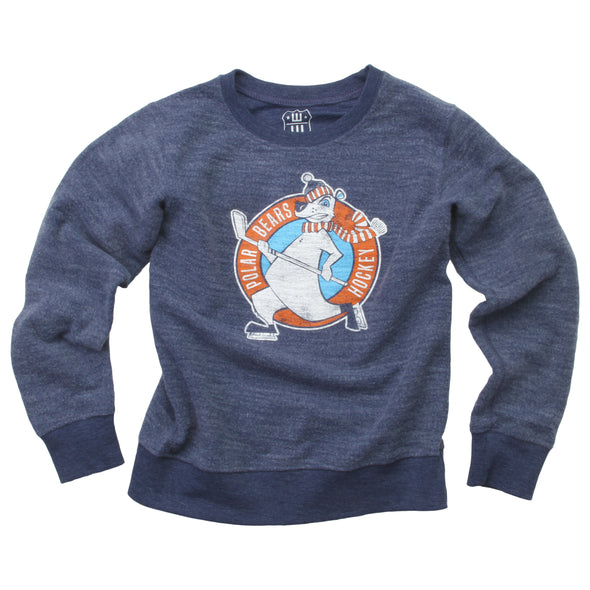 Wes & Willy Boy's Polar Bears Reverse Fleece Top