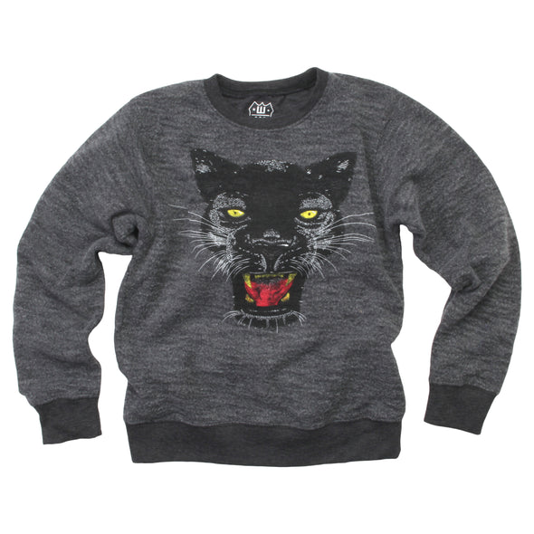 Wes & Willy Boys Panther Reverse Fleece