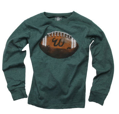 Wes & Willy Boy's Football Tee