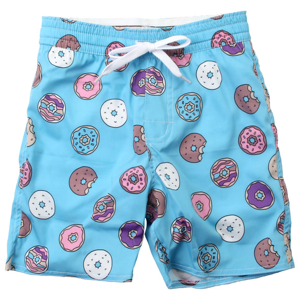 Wes & Willy Boy's Donuts Swim Trunk