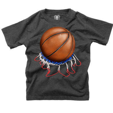 Wes & Willy Boy's Basketball Tee