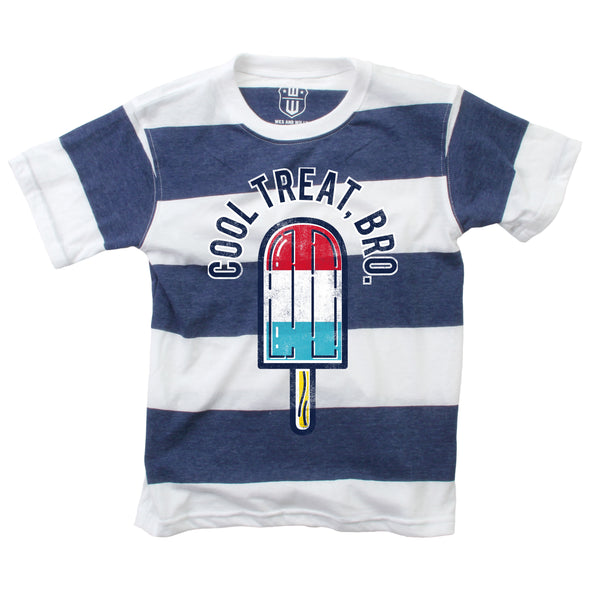 Wes & Willy Cool Treat Sriped S/S Tee