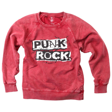 Wes and Willy Boy's Punk Rock Fleece Top