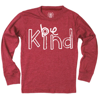 Wes and Willy Be Kind LS Tee