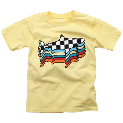 Wes and Willy Boy's Retro Shark Tee