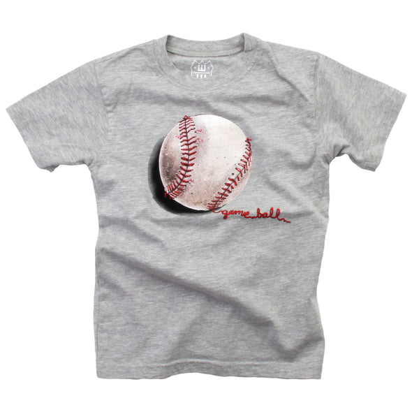 Wes and Willy Baseball Game Ball Tee Shirt