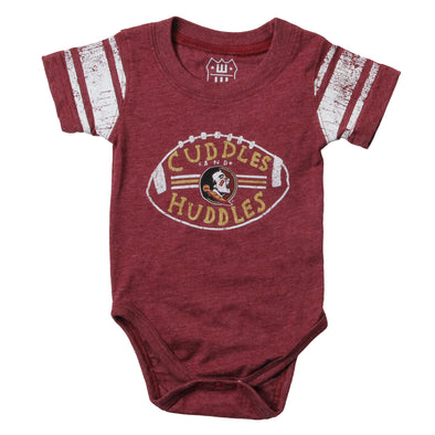 Wes & Willy Florida State Seminoles Girl's Sleeve Stripe Bodysuit