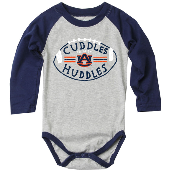 Wes & Willy Auburn Tigers Infant's Raglan Bodysuit