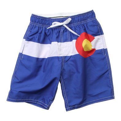 Wes & Willy Men's Colorado Swim Trunk