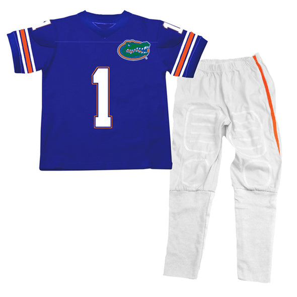 Wes & Willy Florida Gators SS Football Pajamas