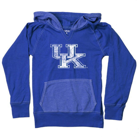 Wes & Willy Kentucky Wildcats Girl's Colorblock Hoodie