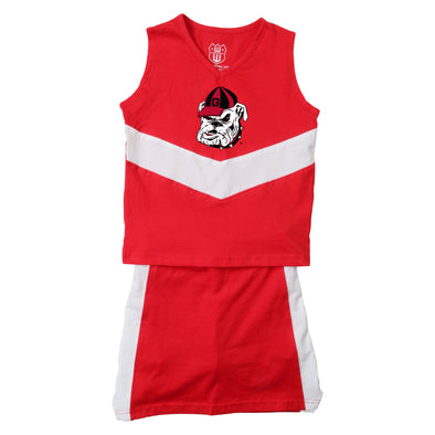 Wes & Willy Georgia Bulldogs Girl's Cheer Outfit