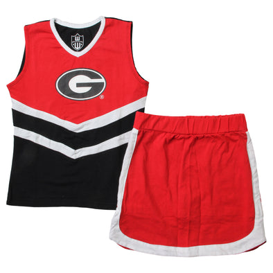 Wes & Willy Georgia Bulldogs Girl's Cheer Set