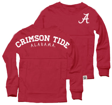 Wes & Willy Alabama Crimson Tide Girl's Cheer Shirt
