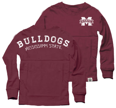 Wes & Willy Mississippi State Bulldogs Girl's Cheer Shirt