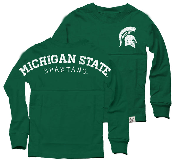 Wes & Willy Michigan State Spartans Girl's Cheer Shirt