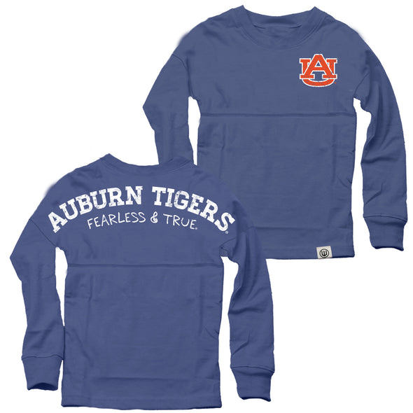 Wes & Willy Auburn Tigers Girl's Cheer Shirt