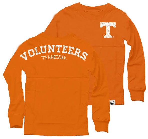 Wes & Willy Tennessee Volunteers Girl's Cheer Shirt