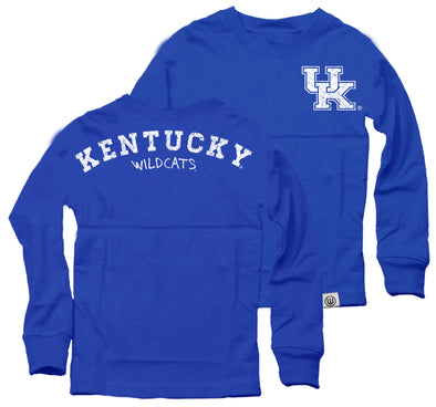 Wes & Willy Kentucky Wildcats Girl's Cheer Shirt