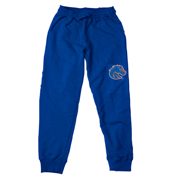 Wes & Willy Boise State Bronco's Girl's Fleece Jogger