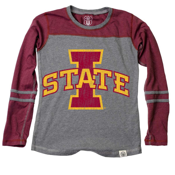 Wes & Willy Iowa State Cyclones Girl's Jersey Top