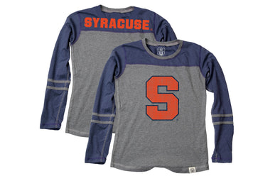 Wes & Willy Syracuse Orange Girl's Jersey Top