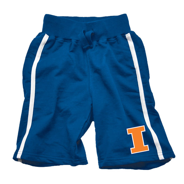 Wes & Willy Illinois Fighting Illini Boy's French Terry Shorts