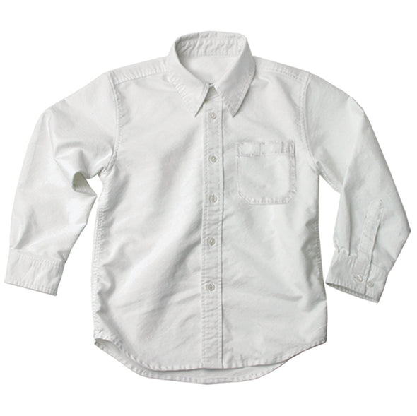Jack Thomas L/S White Oxford Dress Shirt