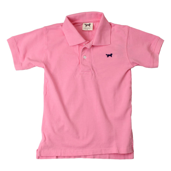 Wes & Willy Classic Short Sleeve Pique Polo/Passion