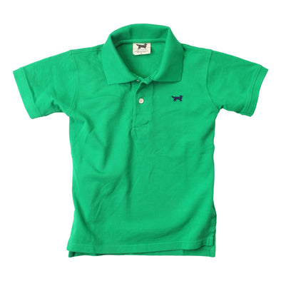 Wes & Willy Classic Short Sleeve Pique Polo/Irish