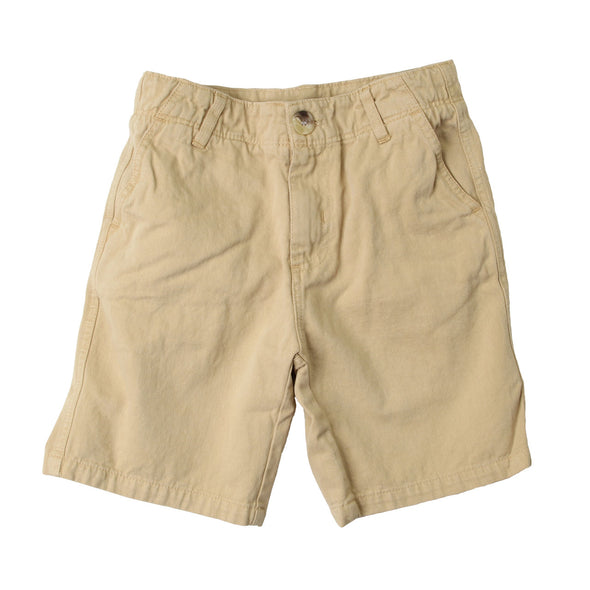 Wes & Willy JT Twill Short/Khaki